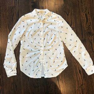 LOGG by H&M horse print shirt